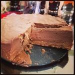 Nutella No-Bake Cheesecake