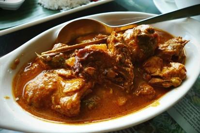 warrior's chicken curry