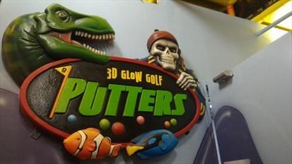 3D Glow Golf