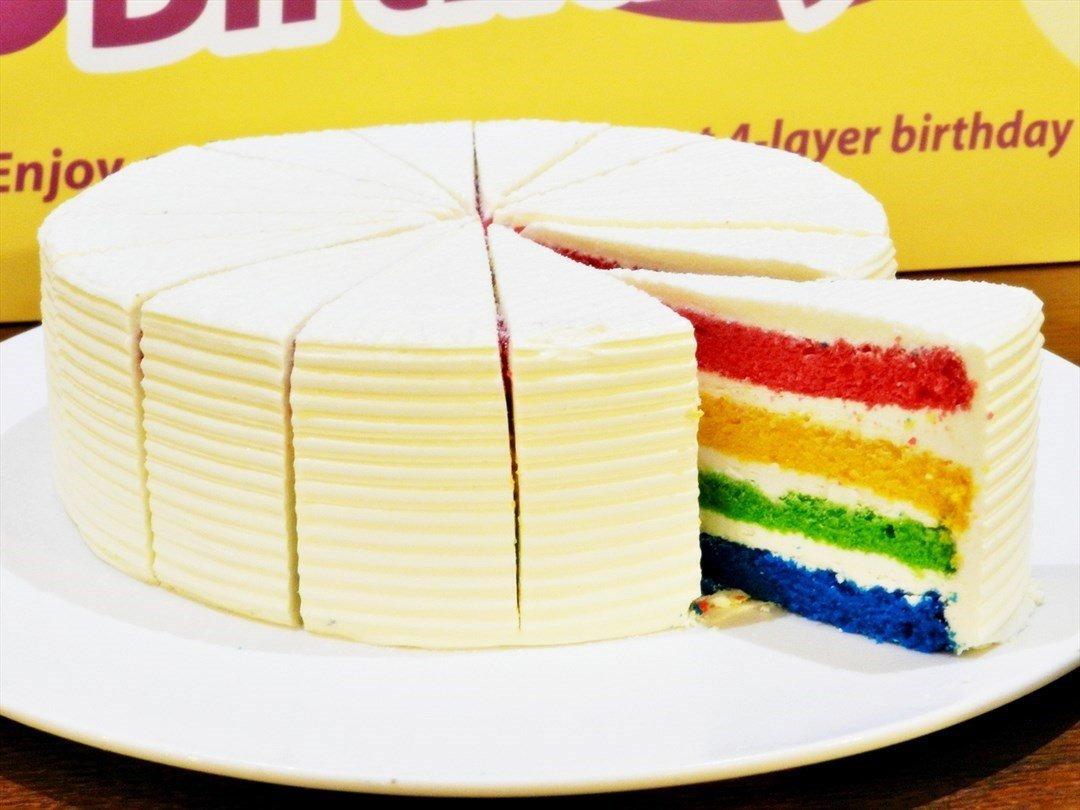Russian 4 Layer Birthday Cake
